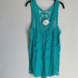 Simply Couture lace swimsuit coverup